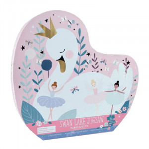 Enchanted Swan 40 Piece Jigsaw Puzzle
