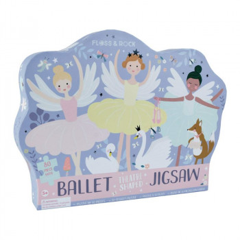 Enchanted Ballet 80 Piece Jigsaw in Shaped Box
