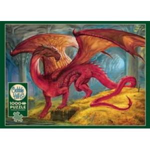 Red Dragon's Treasure 1000 Piece Jigsaw Puzzle