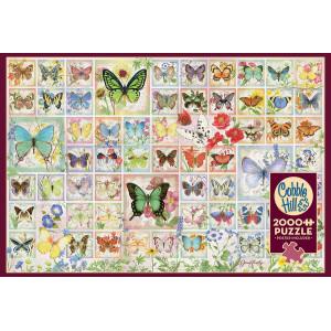 Butterflies & Blossoms 2000 Piece Jigsaw Puzzle