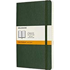 Moleskine Classic Soft Cover Notebook Ruled Large Myrtle Green