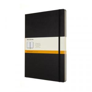 Moleskine Classic Hard Cover Notebook Ruled A4 Black
