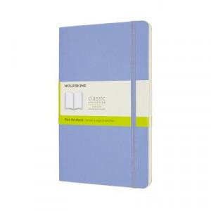 Moleskine Classic Soft Cover Notebook Plain Large Hydrangea Blue