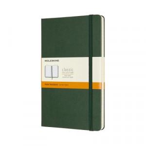 Moleskine Classic Hardcover Notebook Ruled Large Myrtle Green