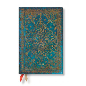 2022  Paperblanks Diary: Azure Week at a Time, Versol, Mini
