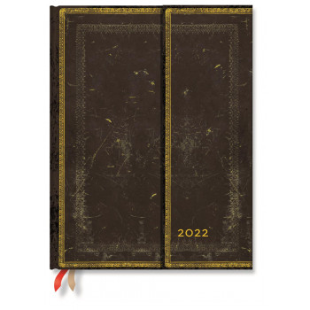 2022  Paperblanks Diary: Arabica Week at a Time, Versol, Ultra