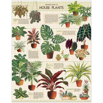 Houseplants 1000 Piece Vintage Jigsaw Puzzle