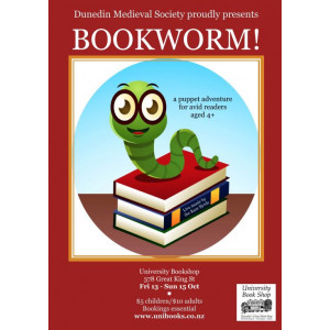 SOLD OUT!!! Ticket (Adult): The Bookworm - 4.30pm Saturday 14 October 2017