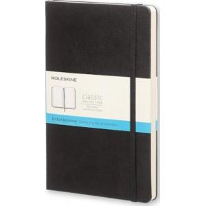 Moleskine Classic Hard Cover Notebook Dot Grid Large Black