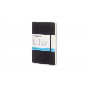 Moleskine Classic Soft Cover Notebook Dot Grid Pocket Black