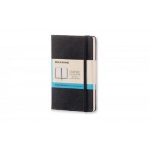 Moleskine Classic Hard Cover Notebook Dot Grid Pocket Black