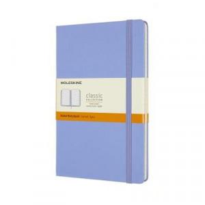 Moleskine Classic Hardcover Notebook Ruled Large Hydrangea Blue