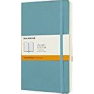 Moleskine Classic Soft Cover Notebook Ruled Large Reef Blue