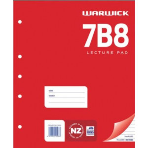 7B8 Lecture Pad
