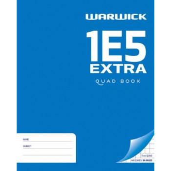 1E5 Extra Quad Book WARWICK