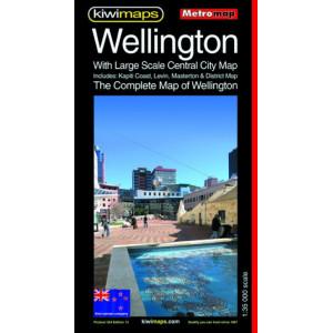 Kiwimaps Wellington Metromap No. 264