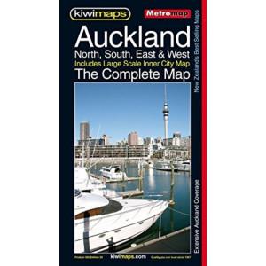 Kiwimaps Auckland Metro Map 260