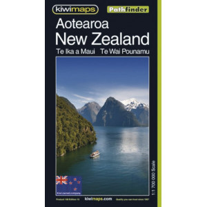 Kiwimaps Aotearoa/New Zealand Pathfinder Map 108