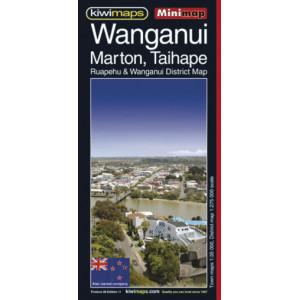 Kiwimaps Wanganui & Taihape Minimap No. 29