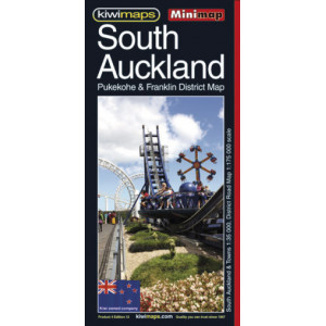 Kiwimaps South Auckland Minimap No. 4