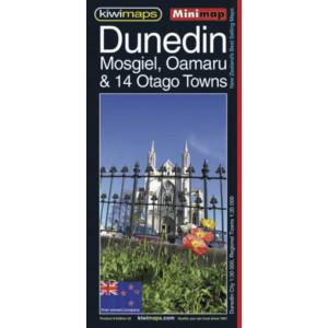 Kiwimaps Dunedin Minimap No. 9