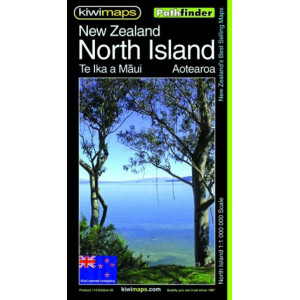 Kiwimaps North Island Pathfinder Map No. 110