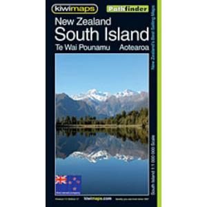 Kiwimaps South Island Pathfinder Map No. 111