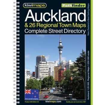 Kiwimaps Auckland Pathfinder Book No. 200