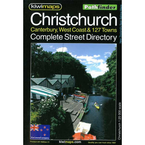Kiwimaps Christchurch Pathfinder Book No. 201
