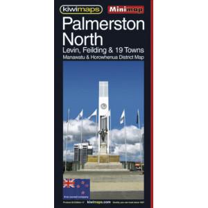 Kiwimaps Palmerston North Map . . . Minimap Map no.22