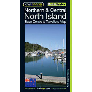 Kiwimaps Northern; & Central North Island Map . . Pathfinder Map no.103