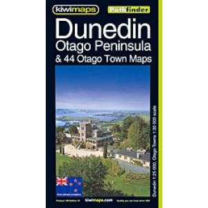 Kiwimaps Dunedin City Pathfinder Map 106