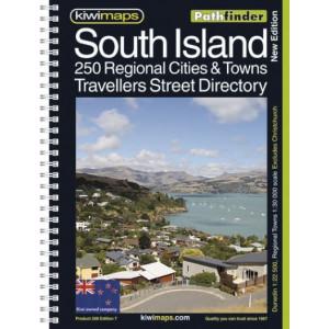 Kiwimaps South Island Street Directory 208