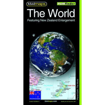 Kiwimaps World Global Map No. 142