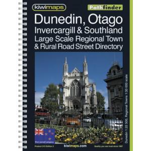 Kiwimaps Dunedin & Otago Pathfinder Book No. 215