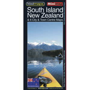 Kiwimaps South Island NZ  Map 25
