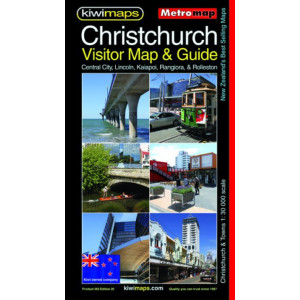 Kiwimaps Christchurch Visitor & Tourist Map No 263