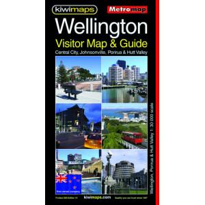Kiwimaps Wellington Metro Map 265