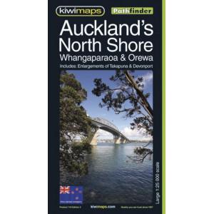 Kiwimaps Auckland's North Shore Pathfinder Map No. 116