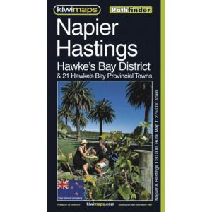 Kiwimaps Napier Hastings Hawkes Bay Minimap 10th ed