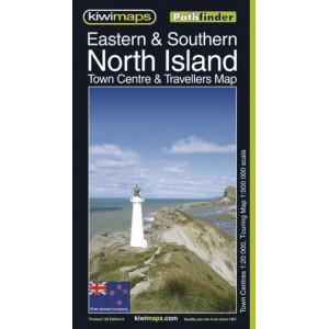 Kiwimaps Eastern & Southern North Island Pathfinder Map No. 120