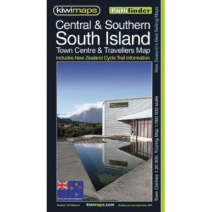 Kiwimaps Central & Southern South Island Map 122