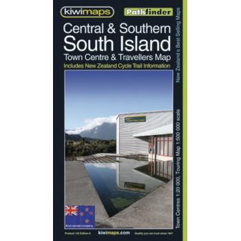 Kiwimaps Central & Southern South Island Map 122