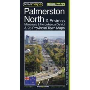 Kiwimaps Palmerston North Pathfinder Map 123