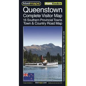 Kiwimaps Queenstown Pathfinder Map No. 128