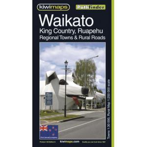 Kiwimaps Waikato Pethfinder Map 129
