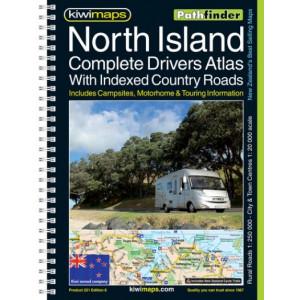 Kiwimaps North Island Complete Drivers Atlas 251