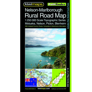 Kiwimaps Nelson Marlborough Minimap 3rd ed