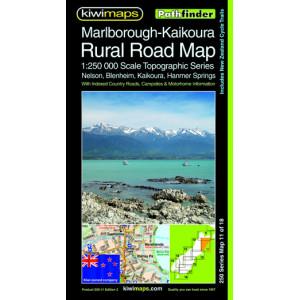 Kiwimaps Marlborough Kaikoura  Minimap 2nd ed