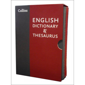 Collins English Dictionary and Thesaurus Slipcase Set